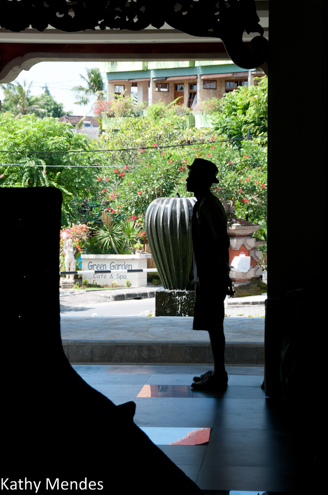 The Doorman at the Bali Hilton