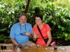 Randy and Kathy Tasting Bali Coffee