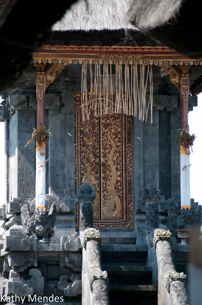 Intricate Temple Doors