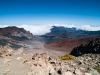 View from the top of Haleakala, super wide-angle, 11 mm.