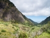 Looking back at Kahului from the back of the Iao Needle.