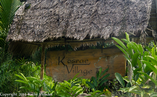 I'm Here! Kosrae Village Ecolodge.