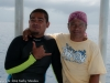 Gorden and Gordin, dive guide and boat captain.