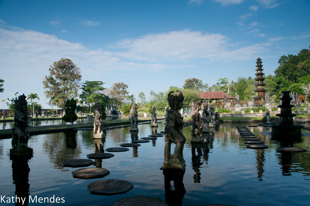 Water Sculptures at Tirta Gangga