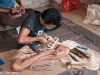 Woodcarver in Ubud