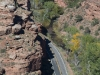 Looking Down at the Hwy and the Escalante River