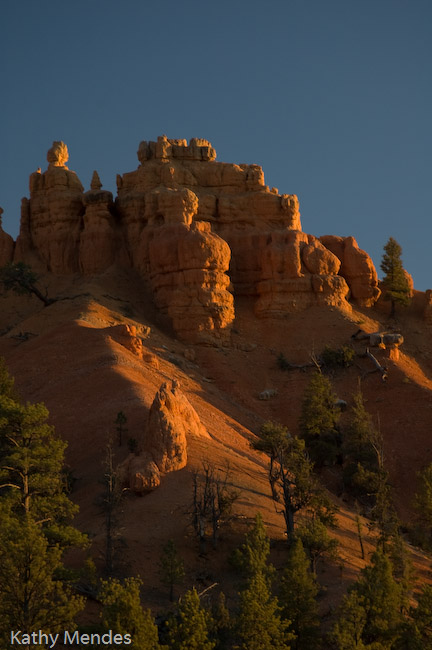 Red Canyon at Sunset