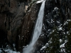 Yosemite Falls Lit from Above