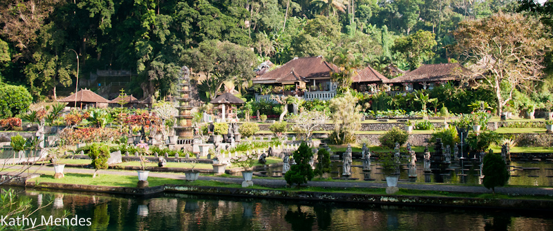 Bali is known for its exotic temples and palaces, like this one at Tirta Gangga.