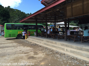 "One of the buses I ""could"" have taken to get from El Nido to Puerto Princesa."